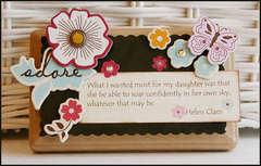 Daughter Mini Decor Plaque