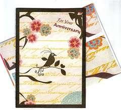 Anniversary Card - bird