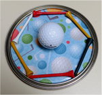Golf Paint Can Top
