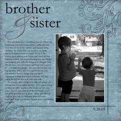 Brother & Sister