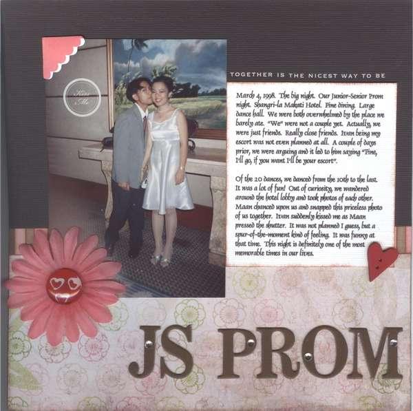 my js prom night essay