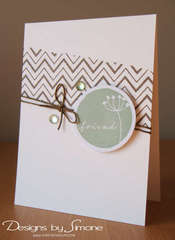 Chevron Friend Card