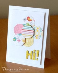 Octagonal Hi Card