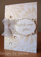 Shimmer Happily Ever After Card