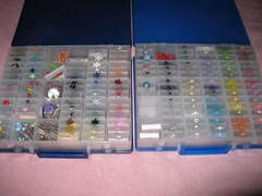 Cropper Hopper Embellishment Cases Organized