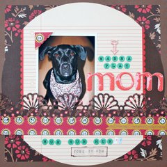 Mom - July Scrap Your Pet