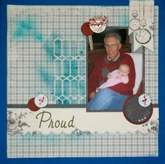 Proud Grandpa (Layout 11)