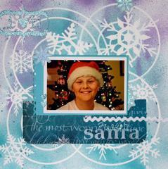Sweet Santa (Feb LO #6)