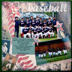 Baseball All Star Team Photo