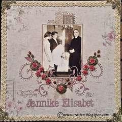 On my Christianday - Jannike Elisabet