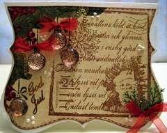 Christmas card 13/2009