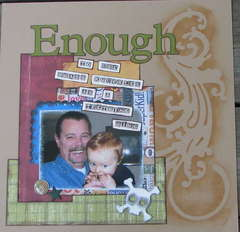 Tough Enough-to use brass knuckles as a teething ring
