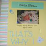 The Reason I Scrapbook (Left Side 12x12)