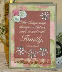 Card for a family member