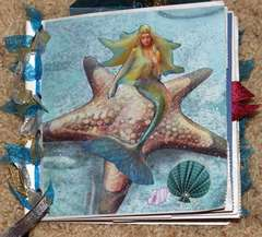 Mermaid Paper bag album