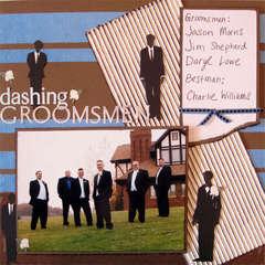 dashing groomsmen