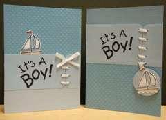 It's a boy! x2