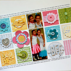 BFFs | Scrapbook Trends Feb '14