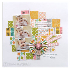 joy•blessing•love<br>{Scrapbook Trends Apr '13}