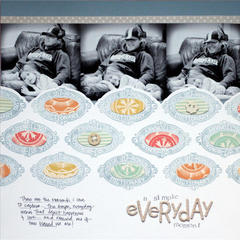 simple everyday<br>{Scrapbook Trends Aug. '12}