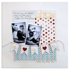 big hugs<br>{Scrapbook Trends Sept. '11}