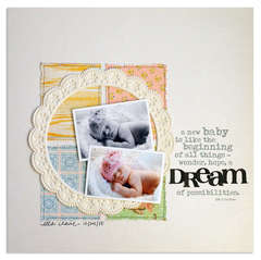dream<br>{Scrapbooks Etc FEB '12}