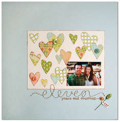 eleven<br>{Scrapbook Trends May 2011}