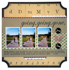 going, going, gone <br>{Jenni Bowlin Sept. Kit}