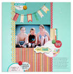 good friends<br>{Scrapbooks Etc. Aug.'12}