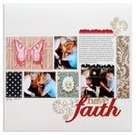 have faith<br>[Scrapbook Trends Nov '12]