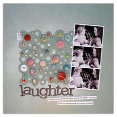 laughter<br>{Scrapbook Trends Quick & Easy)