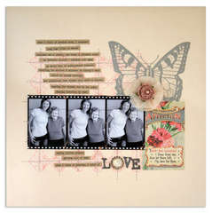 love<br>{Scrapbook Trends April 2011}