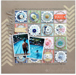 making a splash | Scrapbook Trends JUL '13