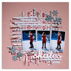 she skates<br>{Scrapbooks Etc. FEB '12}