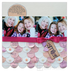smiles<br>[Scrapbook Trends Sept '13]