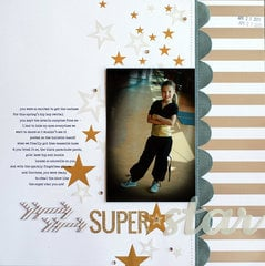 superstar | Scrapbook Trends Feb '14