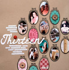 thirteen<br>{Scrapbook Trends June '12}