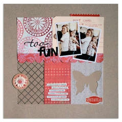 too fun<br>{Scrapbook Trends FEB '12}