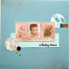 Baby Mine ***Scrapbook Daisies***