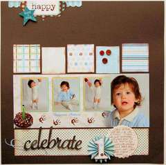 Celebrate  ***Scrapbook Daisies***