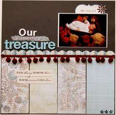 Our Treasure  ***Scrapbook Daisies***