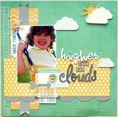 Higher than the Clouds   ***Scraptastic Club***