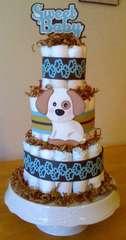 Sweet Baby Diaper Cake