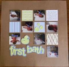 First Bath