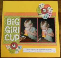 Big Girl Cup