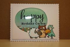 Happy Birthday Carson