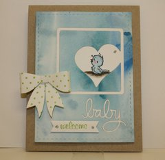 Blue Baby Card
