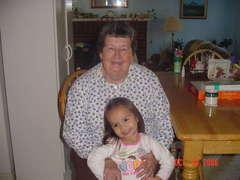 Kyla and Grandma
