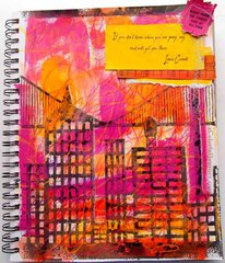 Cityscape Journal by Carolyn Dube