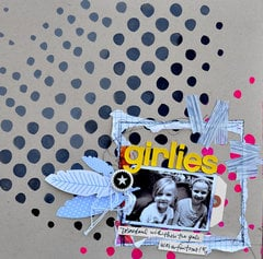 Girlies by Dina Wakley